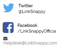 linksnappy support Email