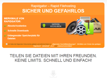 Rapidgator Premium Account Multihoster