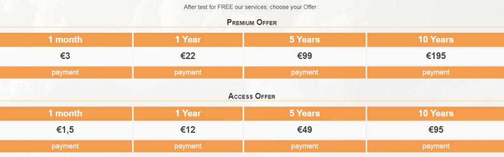 1flichier premium account kosten